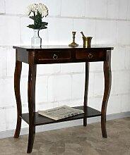 Massivholz Wandtisch Telefontisch Konsolentisch Holz massiv kolonial