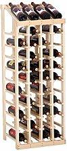 Massivholz Weinregal Ornamente Weinflasche Rack