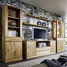 Wohnwand Massivholz Gunstig Online Kaufen Lionshome