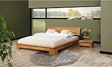Massivholzbett Bett Schlafzimmerbet MAISON Eiche
