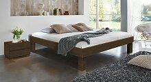 Massivholzbett Komfort, 90x190 cm, Buche