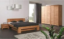 Massivholzbett Schlafzimmerbet MAISON XL Buche