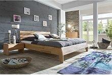 Massivholzbett Schlafzimmerbett - Reni - Bett