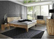 Massivholzbett Schlafzimmerbett - Sierra - Bett