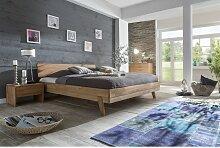 Massivholzbett Schlafzimmerbett - VIA - Bett