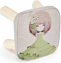 Massivholzgewebe kreativ Schuhhocker wechseln Kinder-Sofa-Hocker (Mehrfache Arten vorhanden) ( Farbe : 10 )
