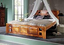 MASSIVMOEBEL24.DE Oxford Bett Classic #0251 Akazie