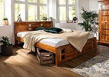 MASSIVMOEBEL24.DE Oxford Bett Classic #0252 Akazie