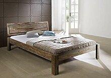 MASSIVMOEBEL24.DE Sheesham massiv Holz Bett