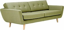 massivum 3-Sitzer Retro-Sofa Kingsley  216x78x96