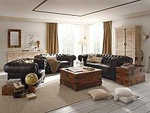 Massivum Chesterfield Sofa Garnitur 1+2+3