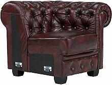 Massivum Chesterfield Sofa Modul 1-Sitzer AL