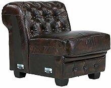 Massivum Chesterfield Sofa Modul 1-Sitzer ohne AL