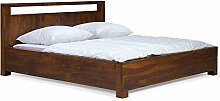 massivum Doppel-Bett Monrovia 180x200 cm aus