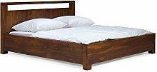 massivum Doppel-Bett Monrovia 200x200 cm aus