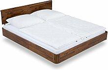 massivum Doppel-Bett Salomon 200x200 cm aus