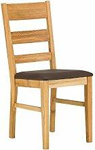 massivum Esszimmer-Stuhl Charles 42x95x46 cm aus