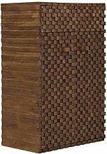 massivum Kommode Abadi 75x114x46 cm aus