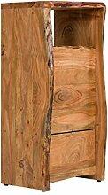 massivum Kommode Carlow 50x110x40 cm Akazie natur