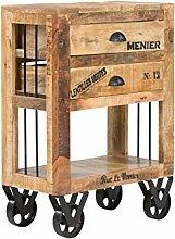 massivum Makeni Kommode Holz - Mango BxHxT 60x80x30