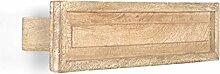 Massivum Patina Handtuchhalter 50cm Bad, Holz,