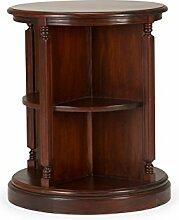 massivum Regal Cambridge 65x78x65 cm Hartholz braun lackier
