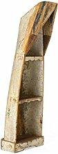 massivum Regal Holika 47x150x37 cm Hartholz bunt gewachs