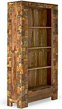 massivum Regal Mayari 102x190x35 cm Palisander braun lackier