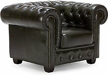 massivum Sessel Chesterfield 114x79x95 cm aus