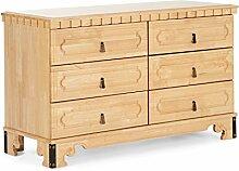 massivum Sideboard Byzanz 120x74x45 cm Rubberwood