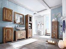 Massivum Torino Badmöbel Set, Holz, braun, 36 x 45 x 185 cm