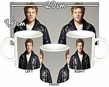 MasTazas Bon Jovi B Tasse Mug