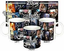 MasTazas Metallica D Tasse Mug