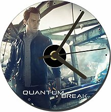 MasTazas Quantum Break Tischuhren CD Clock 12cm