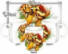 MasTazas Super Smash Brothers Bowser Tasse Mug