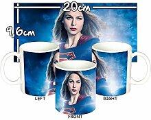 MasTazas Supergirl Melissa Benoist A Tasse Mug