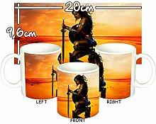 MasTazas Wonder Woman Gal Gadot Tasse Mug