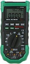 Mastech MS8229 5 in1 Autoranging Digital Multimeter - Lux Schallpegelmesser Temperatur Feuchtigkeit Messgerät Tester