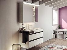 Mastella Smart46 Badmöbel-Set 1000 mm Waschtisch