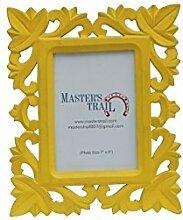 Master's Trail Square entworfen Handarbeit kreative Sonnenblume gelb hängen Bilderrahmen
