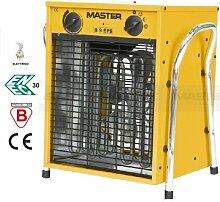 Master Elektro Heizlüfter B 9 EPB 9 kW, 400 V, 3