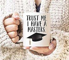 Masters Degree Becher Abschluss Geschenke MBA