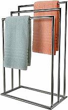 mastronics Handtuchhalter, 3Ebenen, freistehend