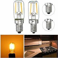 MASUNN Dimmbare E12/E14 1W Mini Cob LED