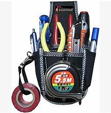 MASUNN Elektriker-Taillen-Werkzeug-Gürtel-Beutel-Beutel-Schraubenzieher Tragen Fall-Halter