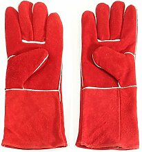 MASUNN Holzofen Handschuhe Lang Gefüttert