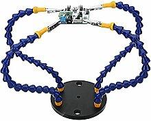 MASUNN Universal Strange Third Hand vier Arms Löt-Station PCB-Halterung mit schweren Mal Basis