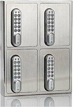 masunt elektronischer Schlüsselsafe E-Code 4