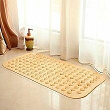 Mat, 40 * 80CM Badezimmermatte, Badezimmermatte, Matratze, Küchematte, rutschfeste saugfähige Auflage ( farbe : D )