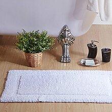 Mat Schlafzimmer Tür mat Handtuch Haushalt Wasser Slip, Weiß